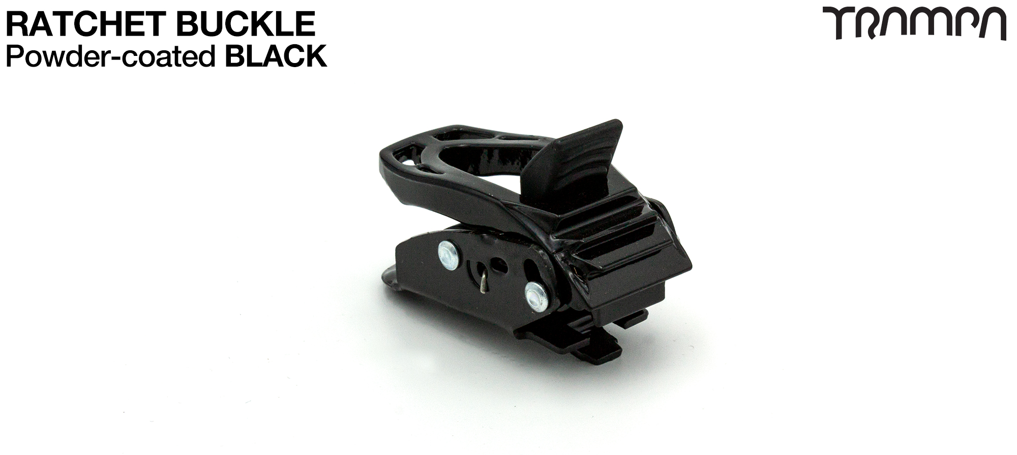 BLACK Ratchet Buckle
