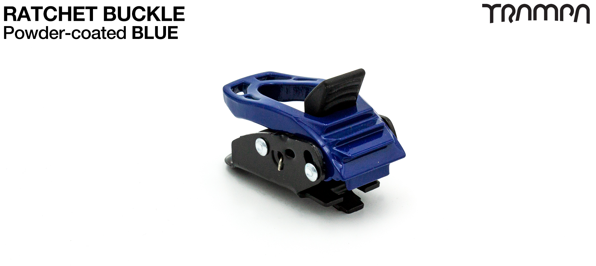 BLUE Powder Coated Ratchet Buckle