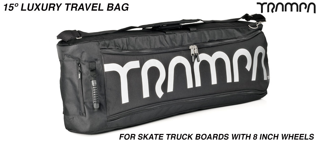 Luxury Travel Bag - Fits 15º short decks with 8 Inch wheels perfectly