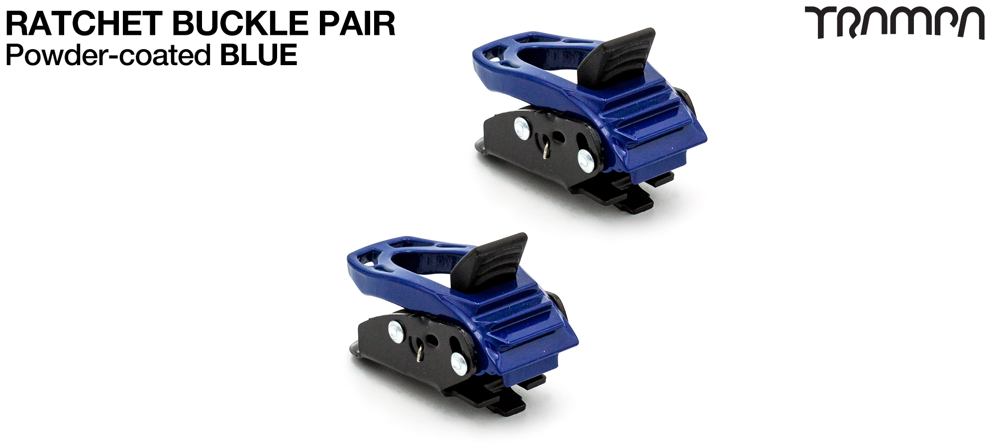 BLUE Powder Coated Ratchet Buckle (+£12.50)