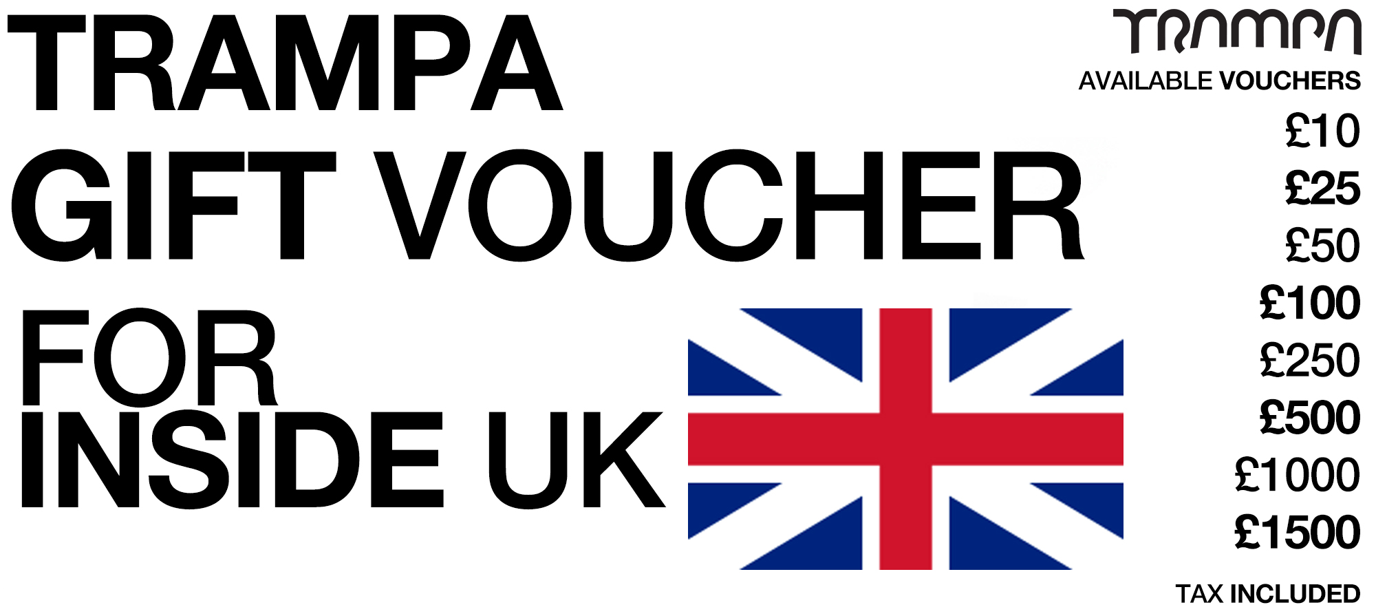 Gift Voucher for UK Customers only