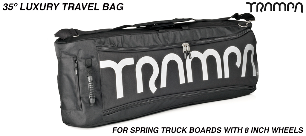 Luxury Travel Bag for your board - fits 35° long decks with 8 inch wheels perfectly