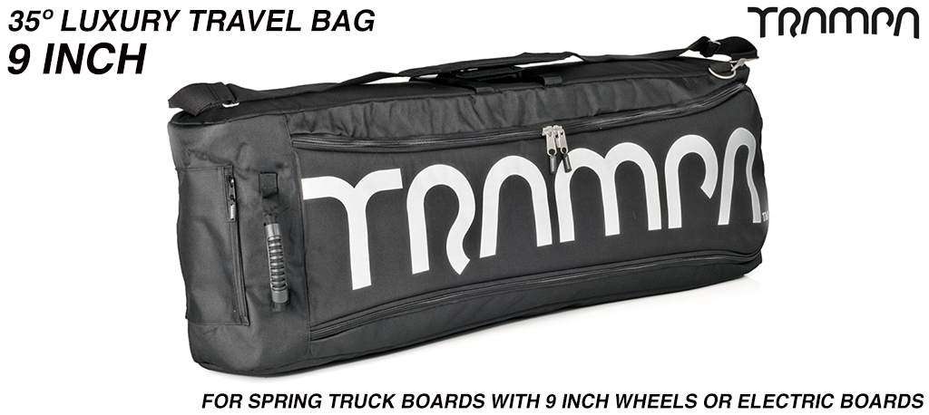 Luxury Travel Bag for your board - fits 35° long decks with 9 inch wheels perfectly