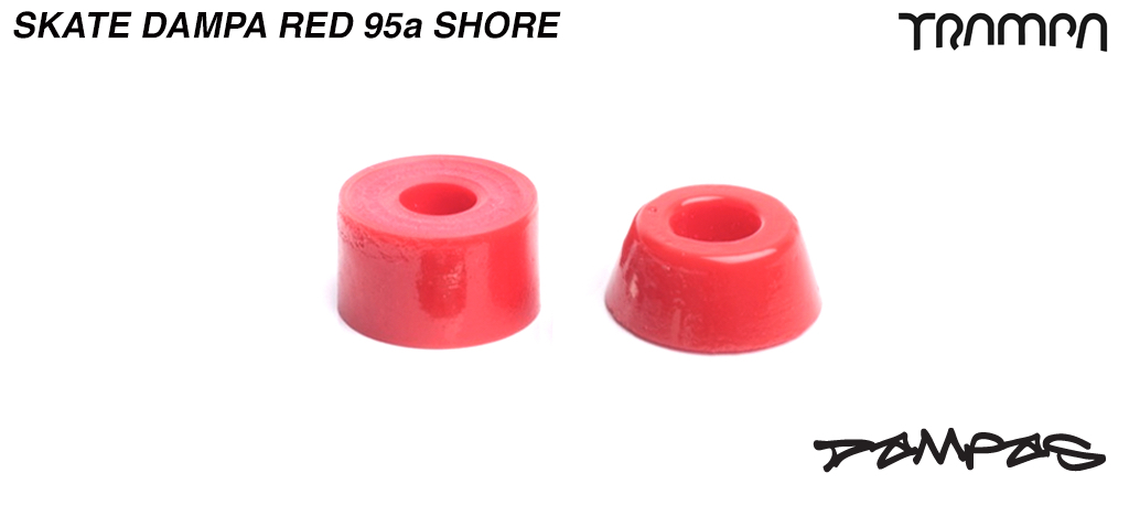 RED TRAMPA Skate DAMPA - 95a Shore - FIRM