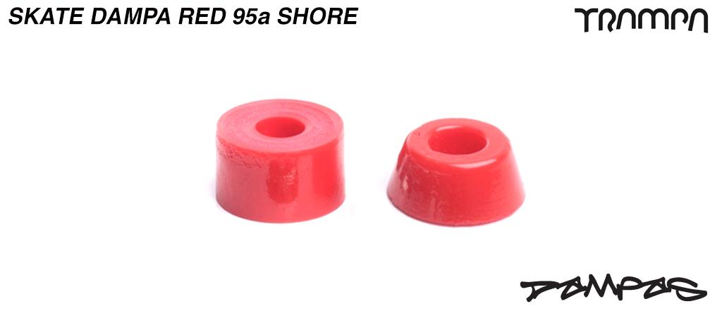 TRAMPA Skate DAMPA  95a Shore - RED