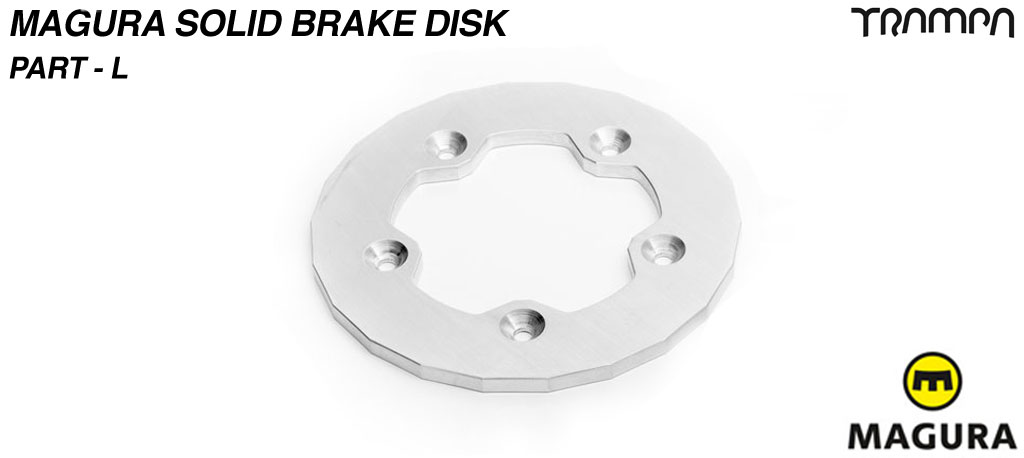 Solid Brake disk to fit SUPERSTAR Hubs - Part L