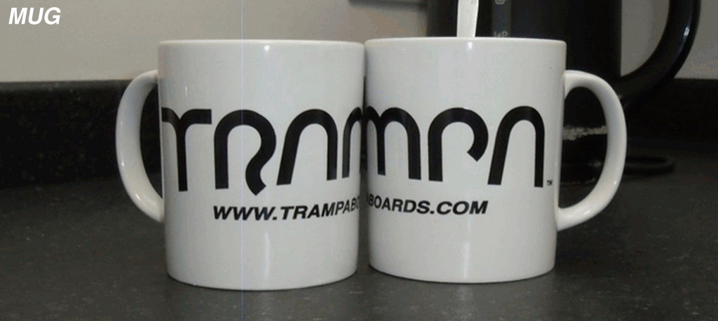 Official Drinking Vessel at TRAMPA introducing the TRAMPA Mug