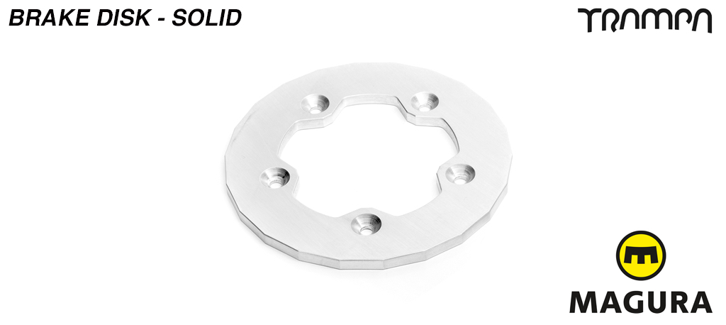 Solid Brake disk to fit superstar wheels