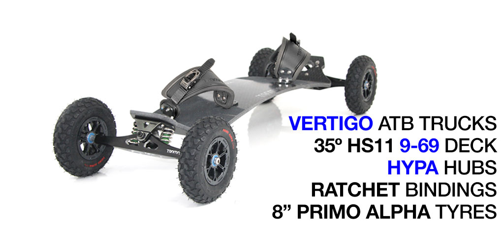 Mountainboard 690 - GUNMETAL (out of stock)
