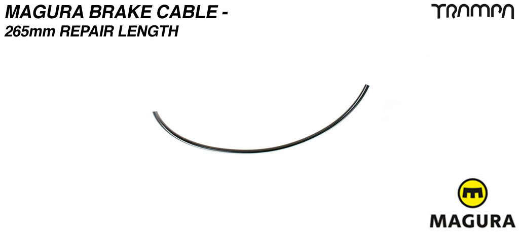 Magura brake cable - 265mm repair length between calipers