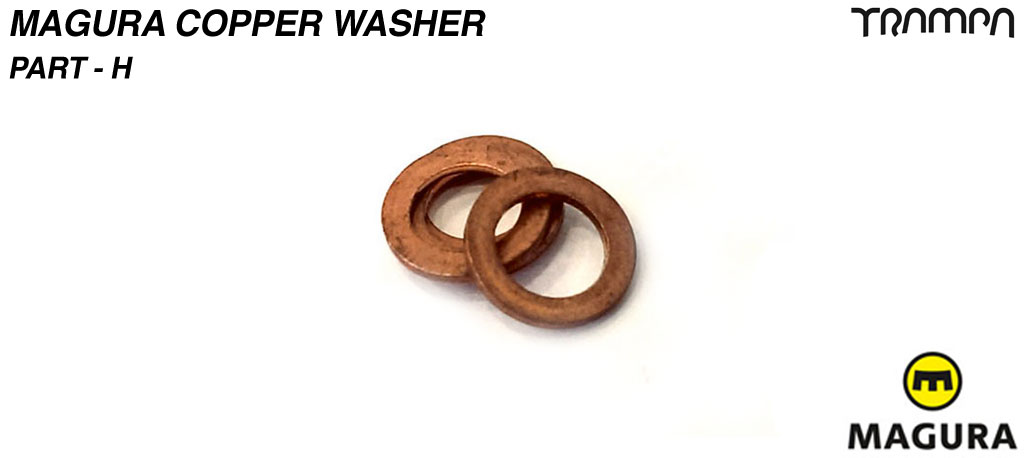 Magura connecting copper Washer - part H