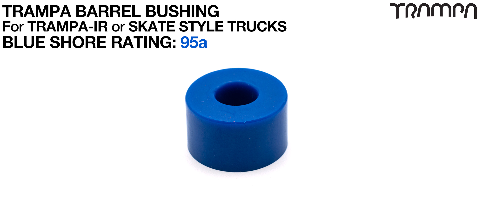 BLUE TRAMPA Skate DAMPA - 95a Shore - FIRM