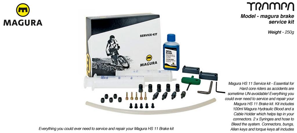 Brake service kit