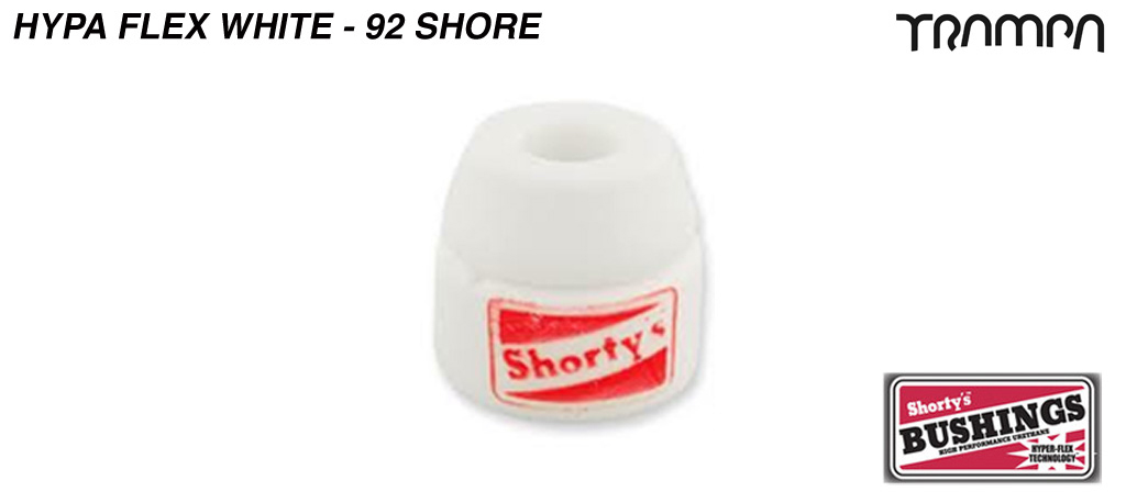 WHITE Doh Doh Bushing & over sized washer Half set - 92a Shore = SOFT
