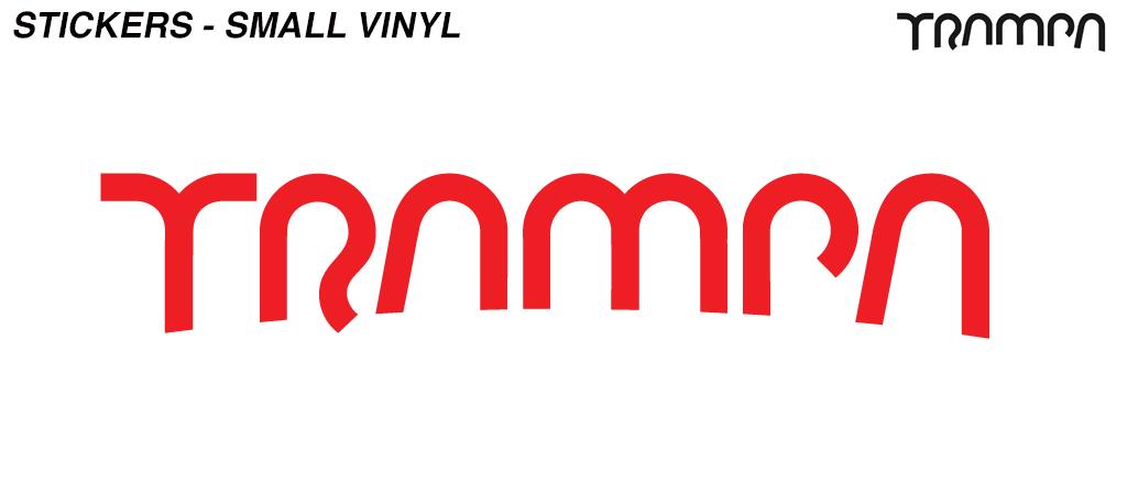 RED Vinyl Stickers