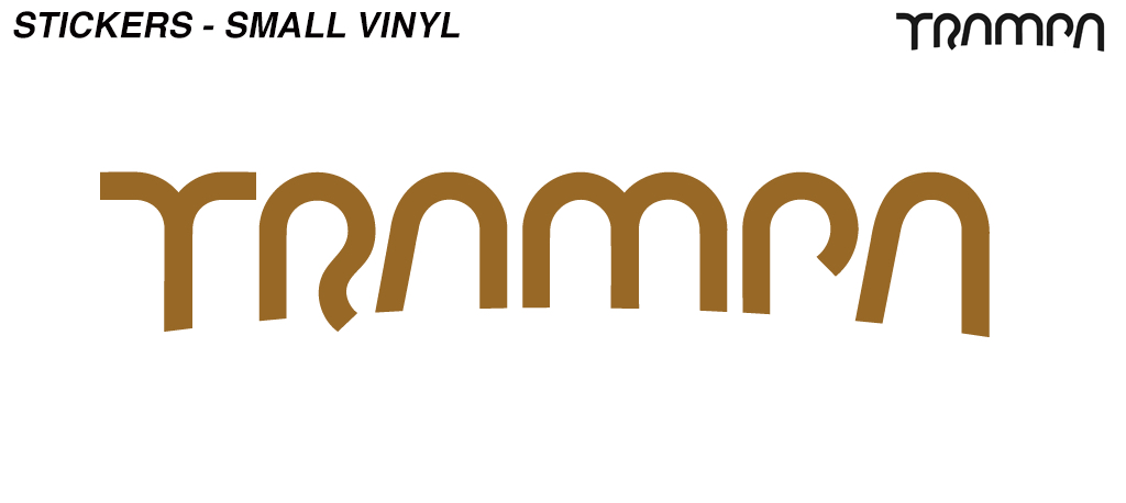Bronze TRAMPA Stickers Please