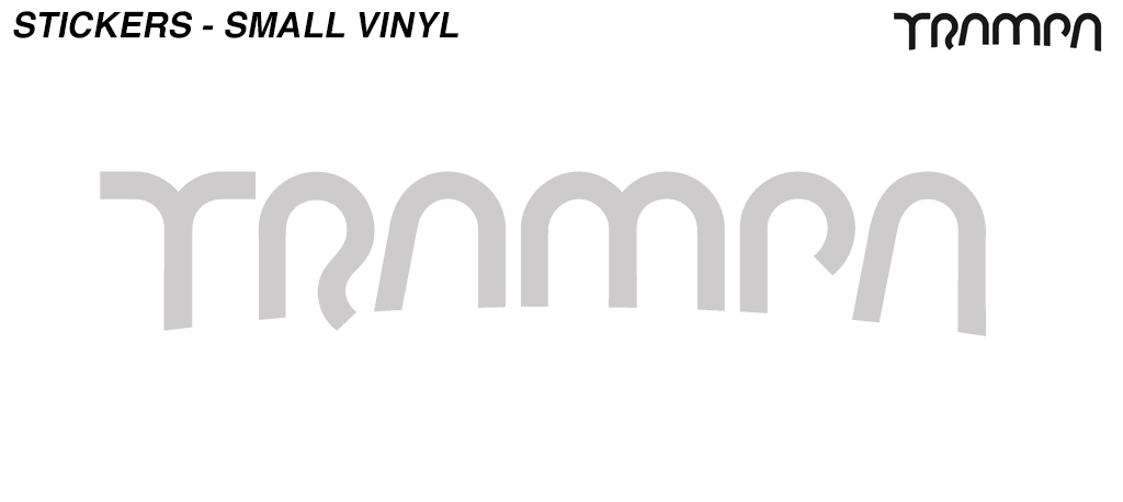 Pimp Chrome TRAMPA Stickers Please(+£3) - OUT OF STOCK