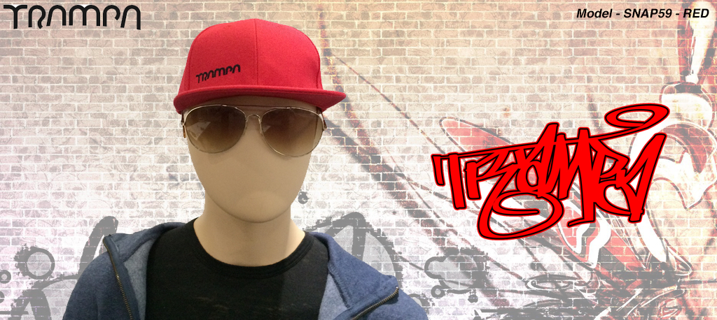 Rapper Cap SNAP 59 in RED (out of stock)