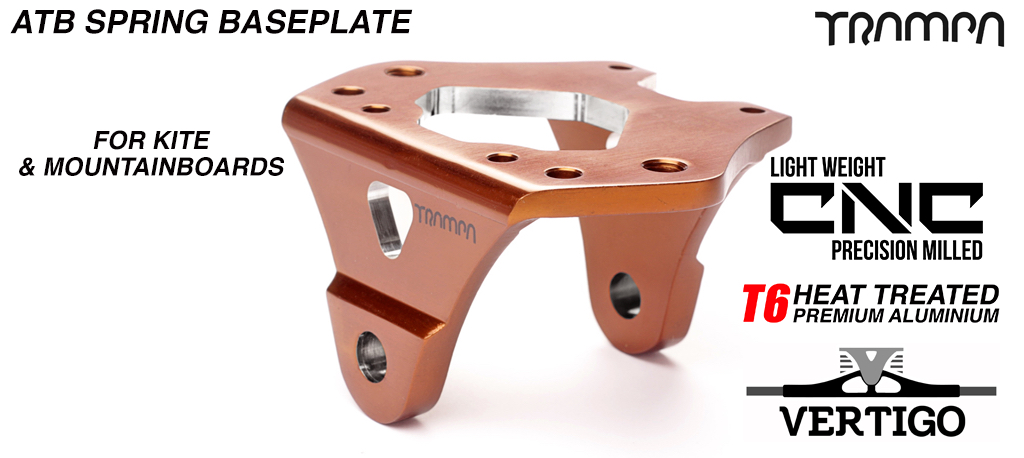 BRONZE Anodised with Black logo  - OUT OF STOCK