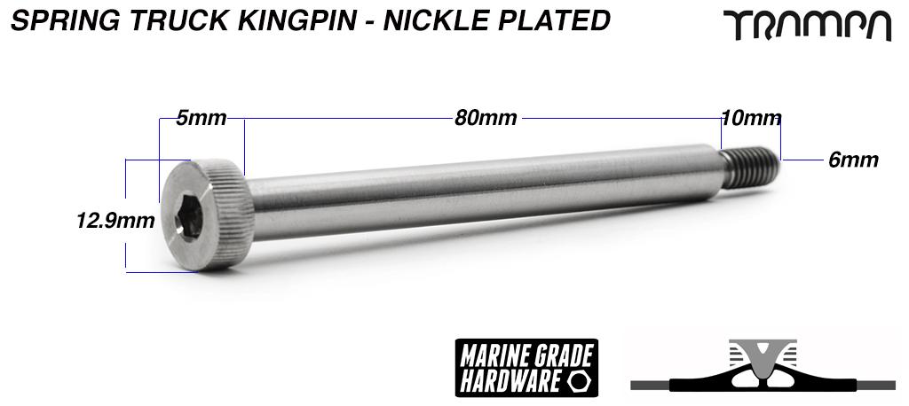 NICKLE PLATED Kingpin