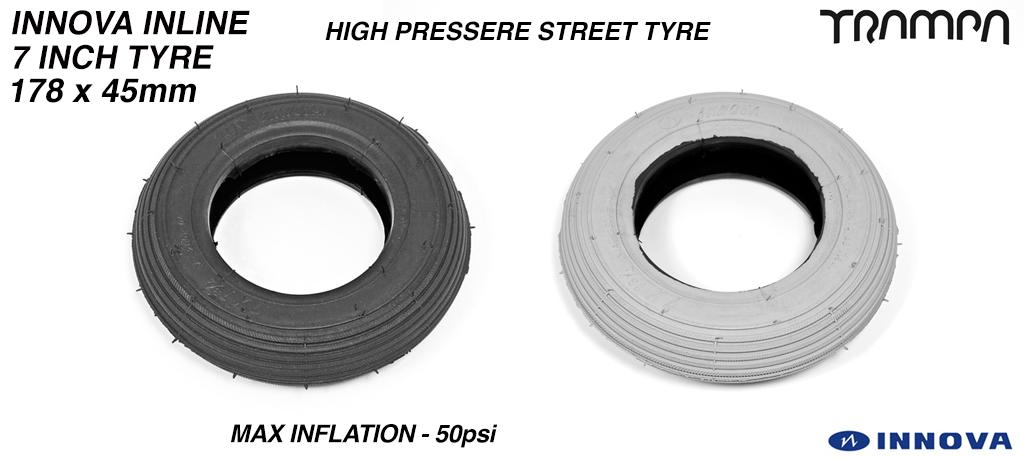 INNOVA INLINE - 7 Inch  Straight cut Street tyre