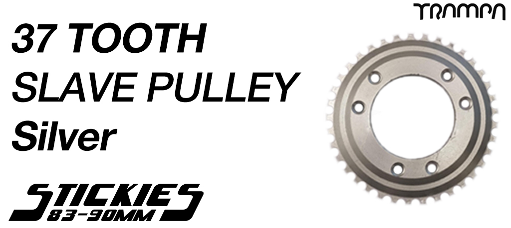 SILVER - 37 Tooth SLAVE Pulley - BEST Hill Climber