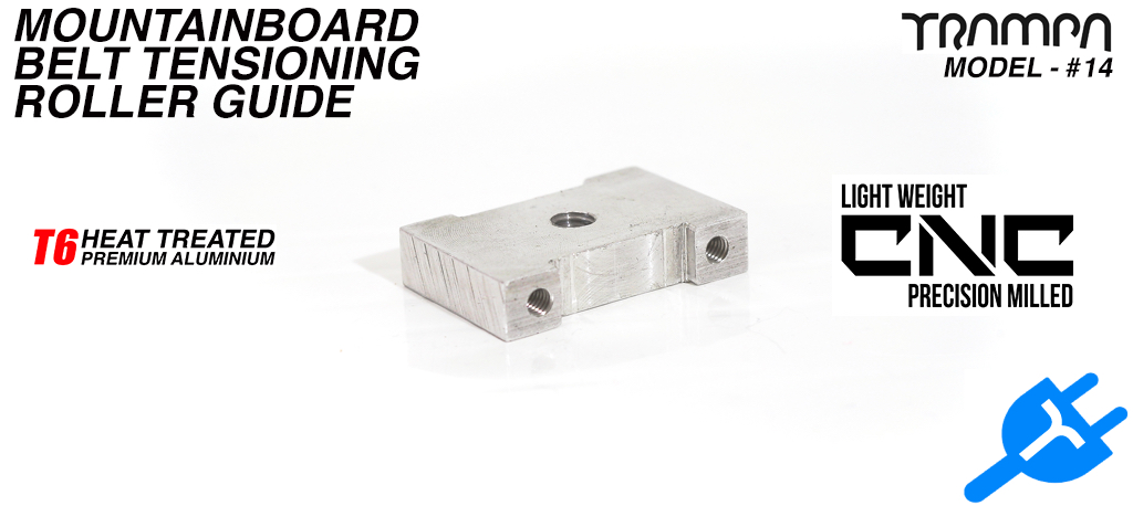 Mountainboard Tension Roller Adjuster Block