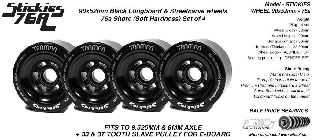 90mm BLACK - 76a Sticky (+£10)