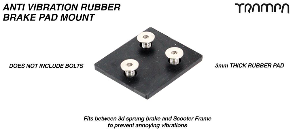 Anti Vibration Rubber Brake Pad mount