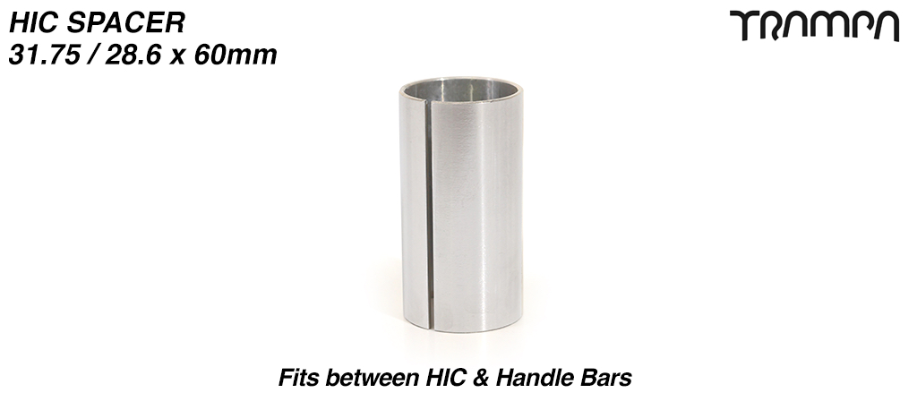 HIC Internal Handlebar Connecting sleeve 31.75 / 28.6 x 60mm