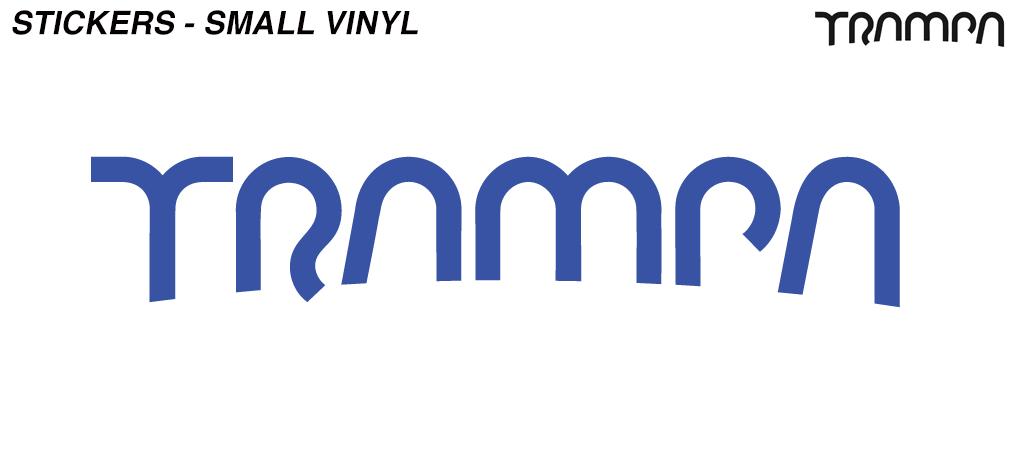 Alpha BLUE 65mm Detail Vinyl Sticker