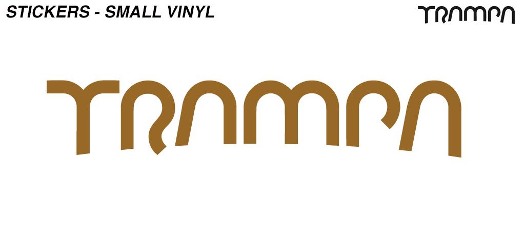 Metallic BRONZE 65mm Detail Vinyl Sticker