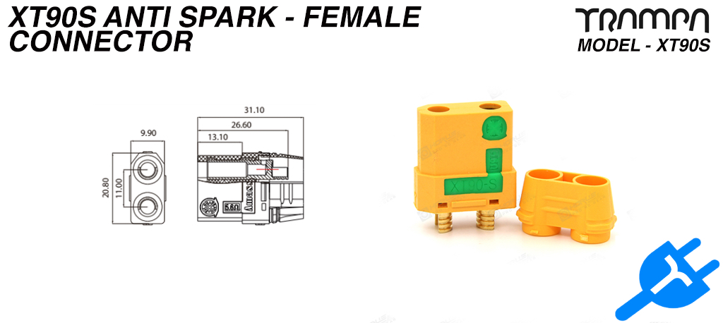 XT90s Anti Spark Connector - Female