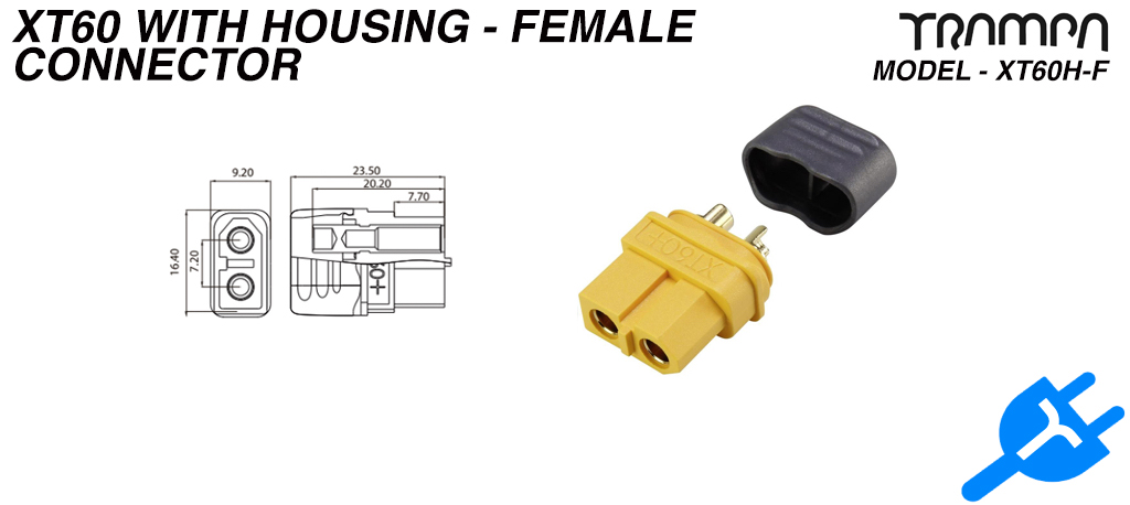 XT60 connector with Housing - Female