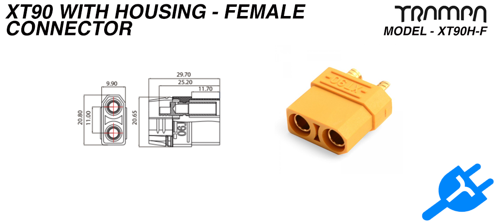 Xt90 with Housing - Female