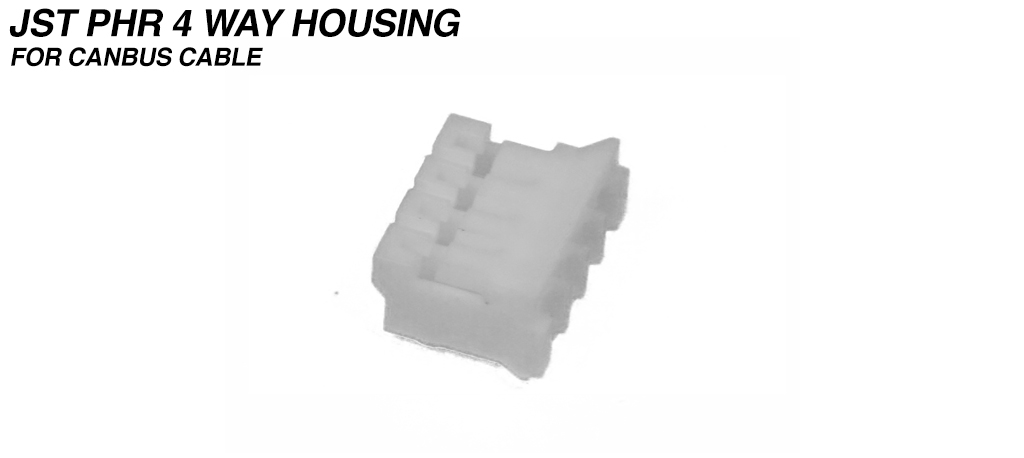 PH - 2.0mm Receptacle Housing 4 Way