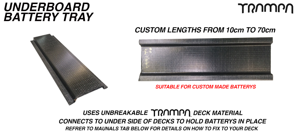 10cm underboard Battery tray £15