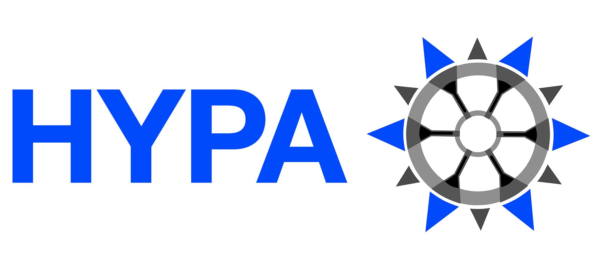 Custom HYPA hub with Gummies 125mm Longboard Wheel Tyre