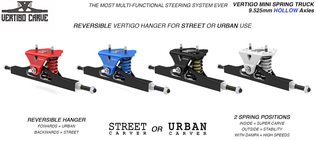 Mini VERTIGO - CNC Hanger & HOLLOW Axles