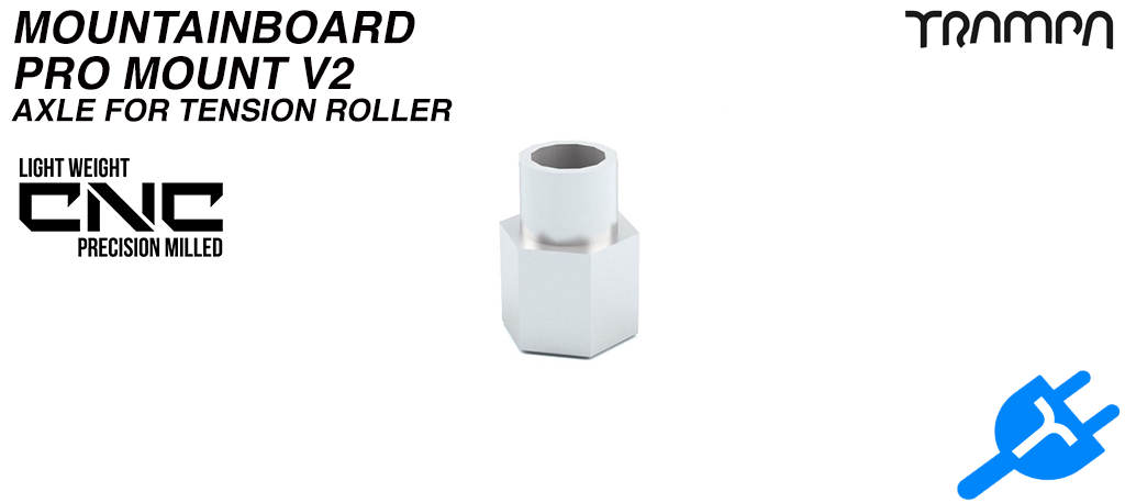 Spacer Nut for Belt Tensioner- Stainless Steel