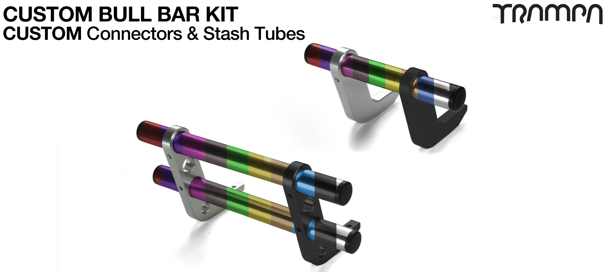 Please add & fit 1x set of Mountainboard BullBars (+£50)