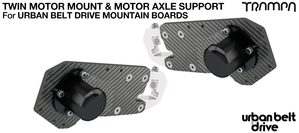 URBAN MOUNTAINBOARD Motormount & Axle Support kit - TWIN mounts