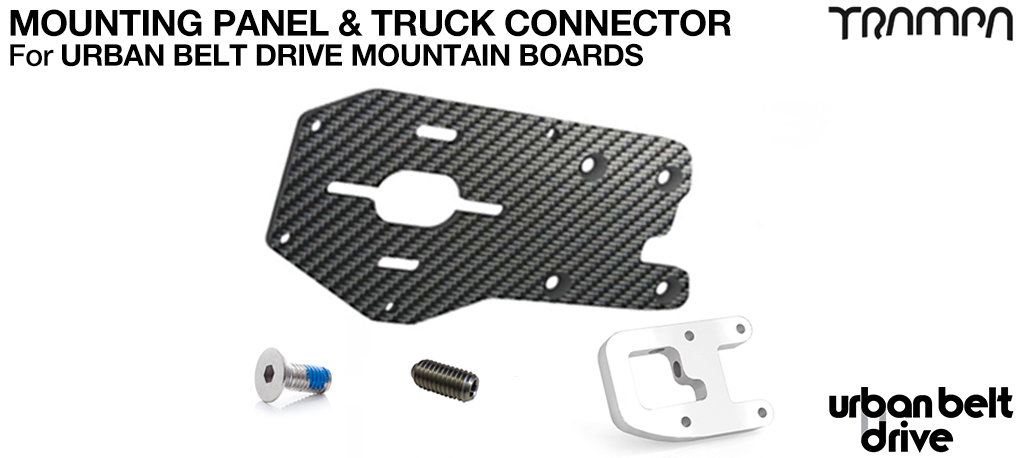 URBAN MOUNTAINBOARD Motormount Connector & Panel - SINGLE