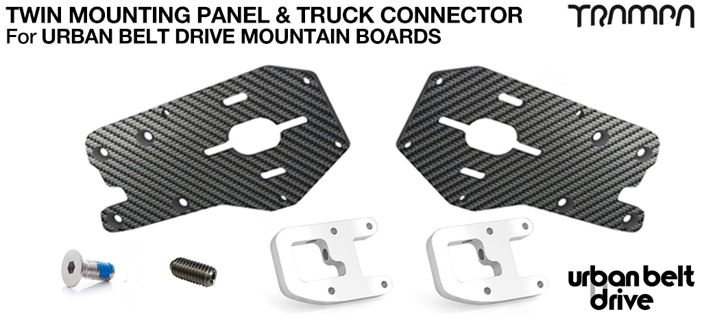 URBAN MOUNTAINBOARD Motormount Connector & Panel - TWIN