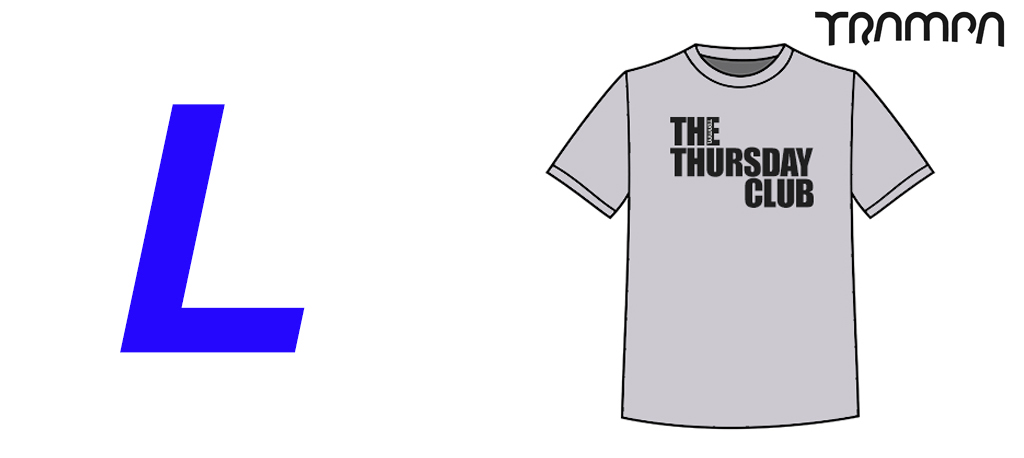 FOTL The THURSDAY Club Marl Grey Heavy Cotton - Large