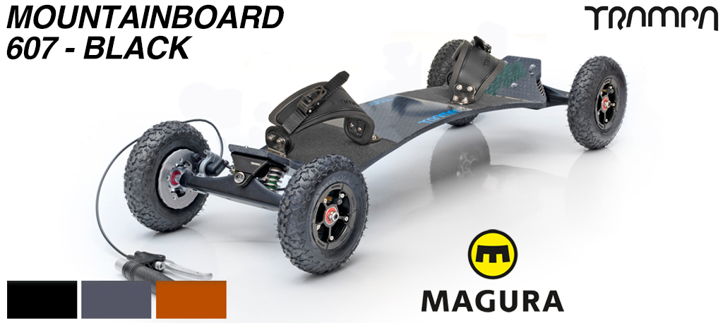 TRAMPA HS11 or HOLYPRO Mountainboard with Magura HS11 Hydraulic Brakes