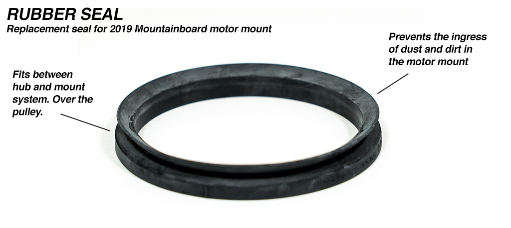 PRO Mountainboard  Motor Mount V-Ring TUB Seals - Fits both BELT & SPUR Gear Drive Motor Mounts