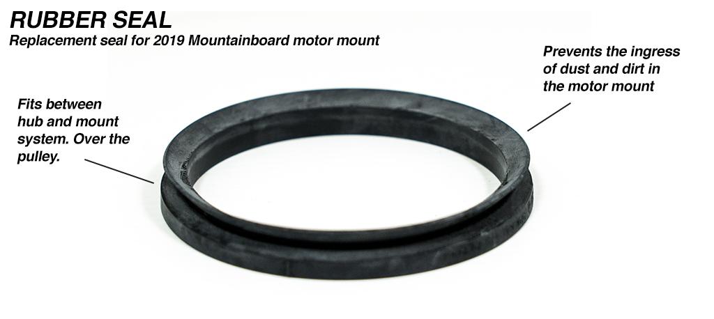 Mountainboard  Motor Mount V-Ring TUB Seals - Fits both BELT & SPUR Gear Drive Motor Mounts