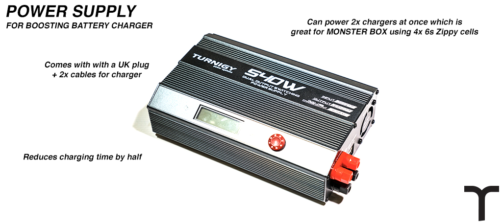TURNIGY 540W Dual Output Switching Power Supply