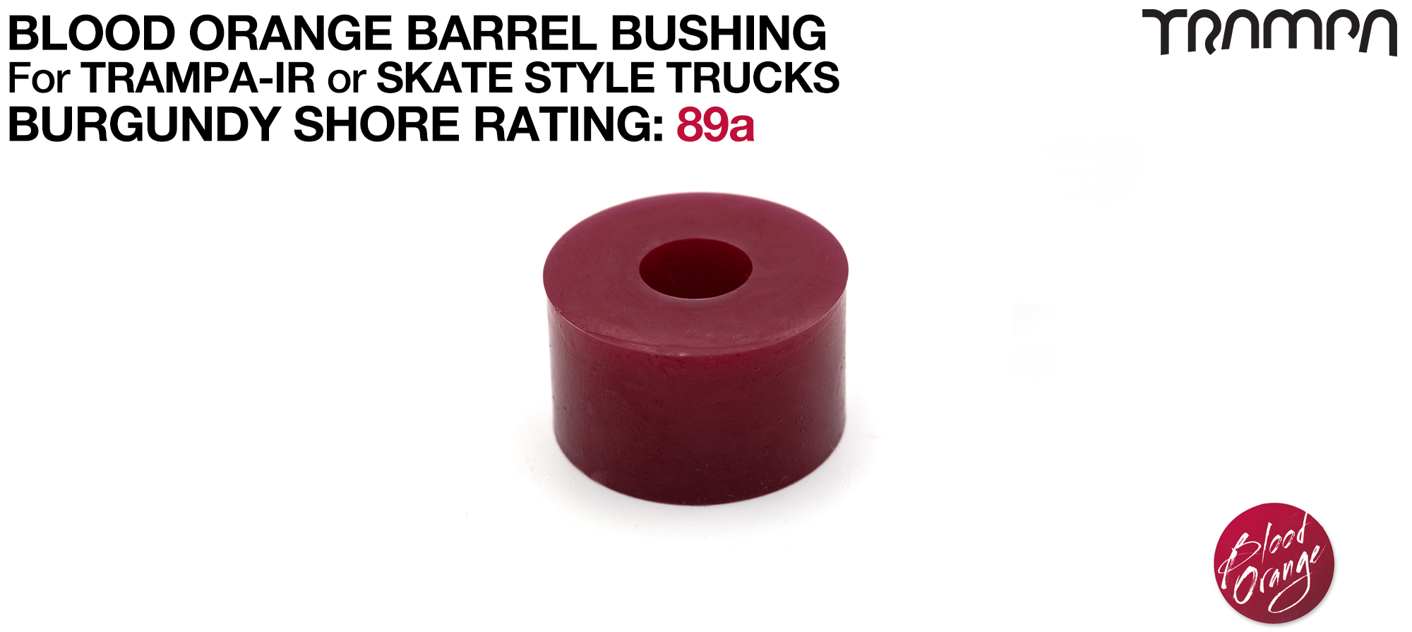 Blood Orange Bushings 92a Lubricated Internal Barrel Set - YELLOW